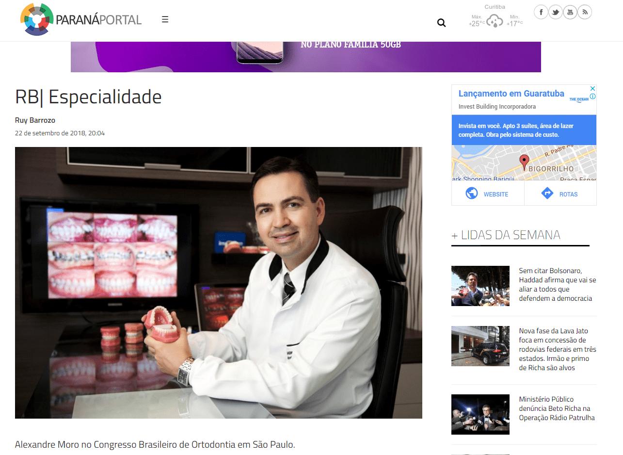 Alexandre Moro no Congresso Brasileiro de Ortodontia em São Paulo